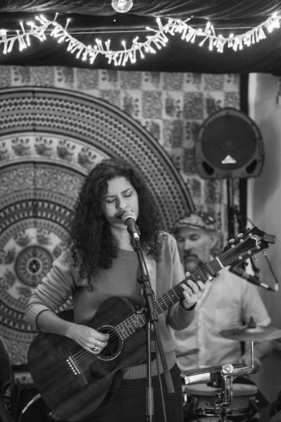 Natalie Beabella at El Sol y la Luna studios (Foto: Miguel Herranz)
