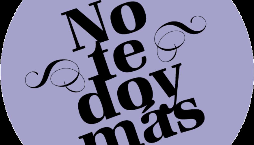 No Te Doy Más